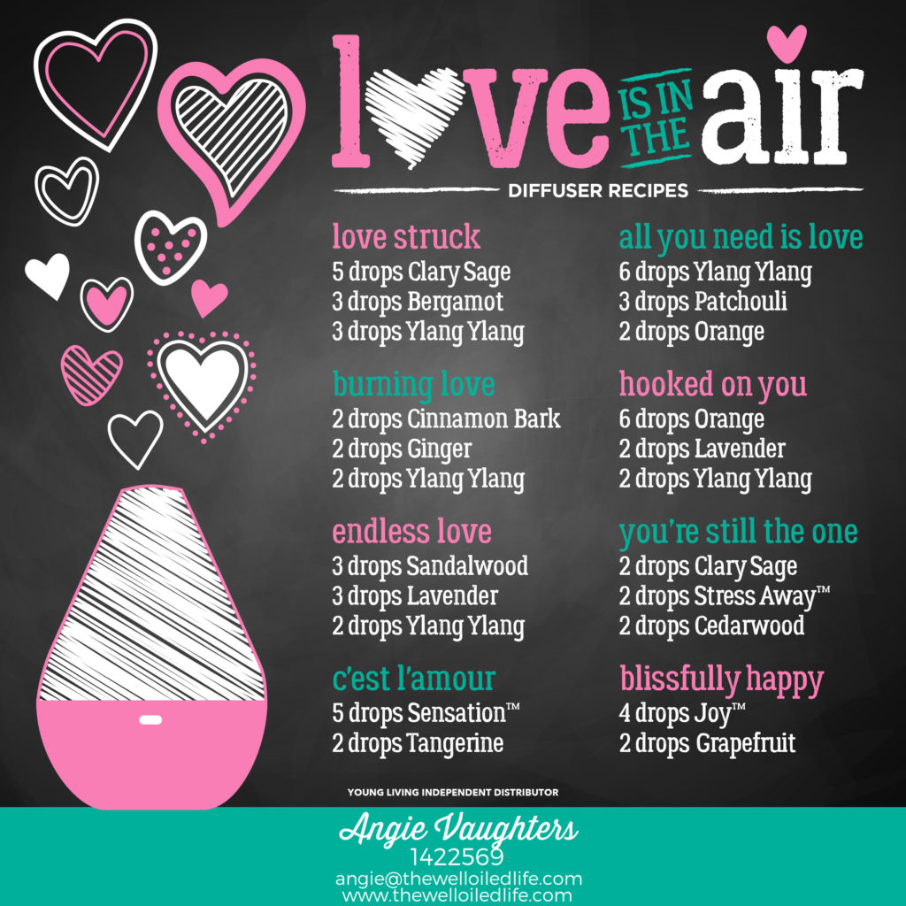 Essential Oil Recipes Just in Time for Valentine\u0027s Day!
