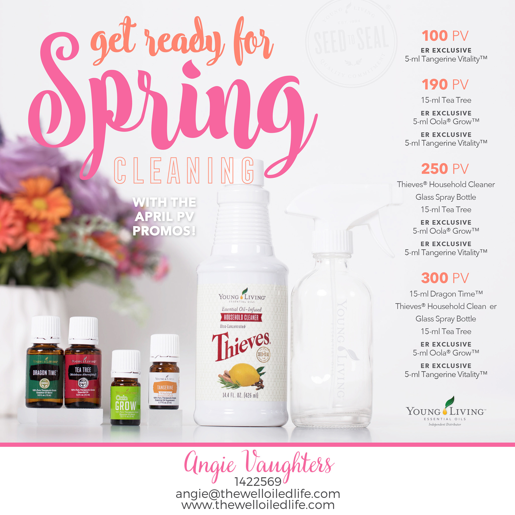 Young Living April 2017 Promotion
